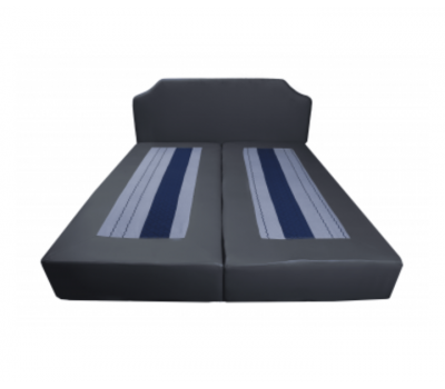 Ordinary bed base with head